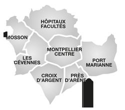 Carte Des Territoires Et Quartiers
