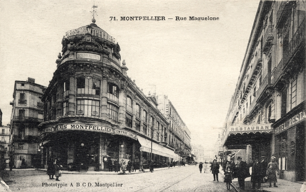 Rue maguelone, vers 1900, 6Fi230