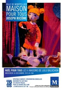 Marionnettes sur table mpt j ricome onvasortir montpellier for Danse classique maison pour tous montpellier