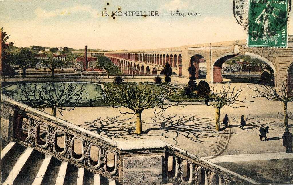 250 me anniversaire aqueduc saint cl ment ville de - Piscine montpellier pitot ...