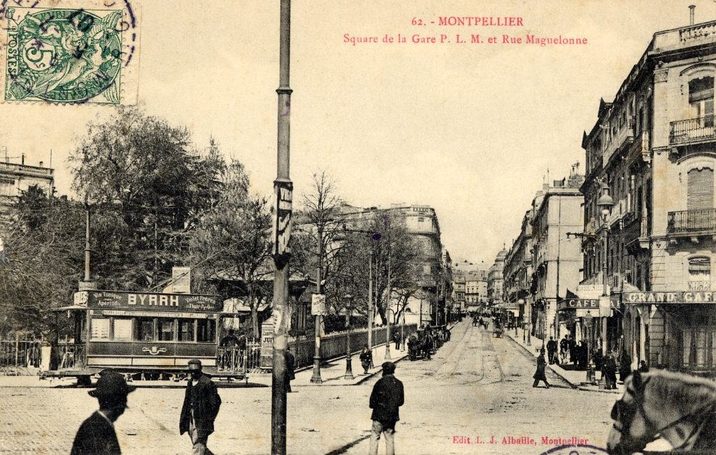 Rue Maguelone, vers 1900, 6Fi232