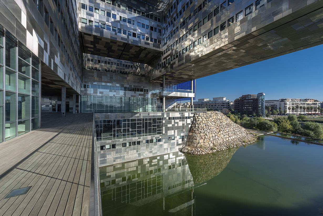 Montpellier en images ville de montpellier - Hotel de ville montpellier jean nouvel ...
