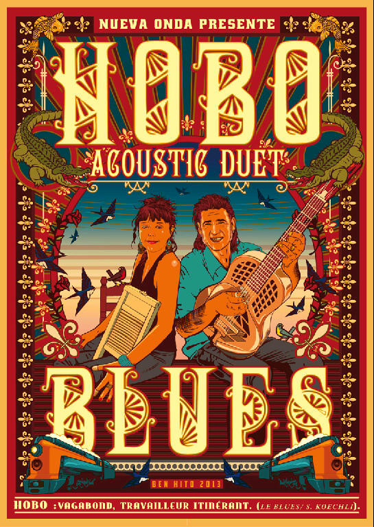 Affiche HOBO BLUES