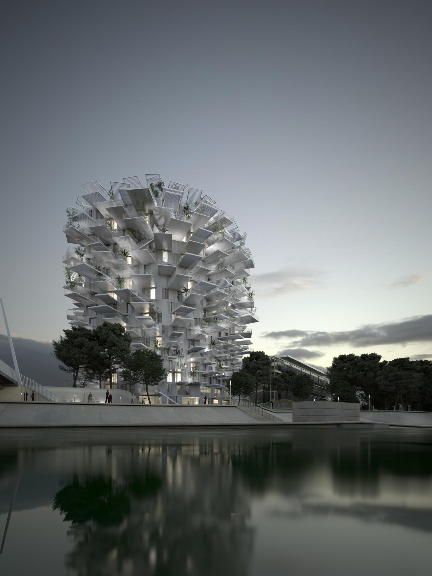 Richter 7 - Sou fujimoto architects / NL*A Paris / Oxo architects / RSI