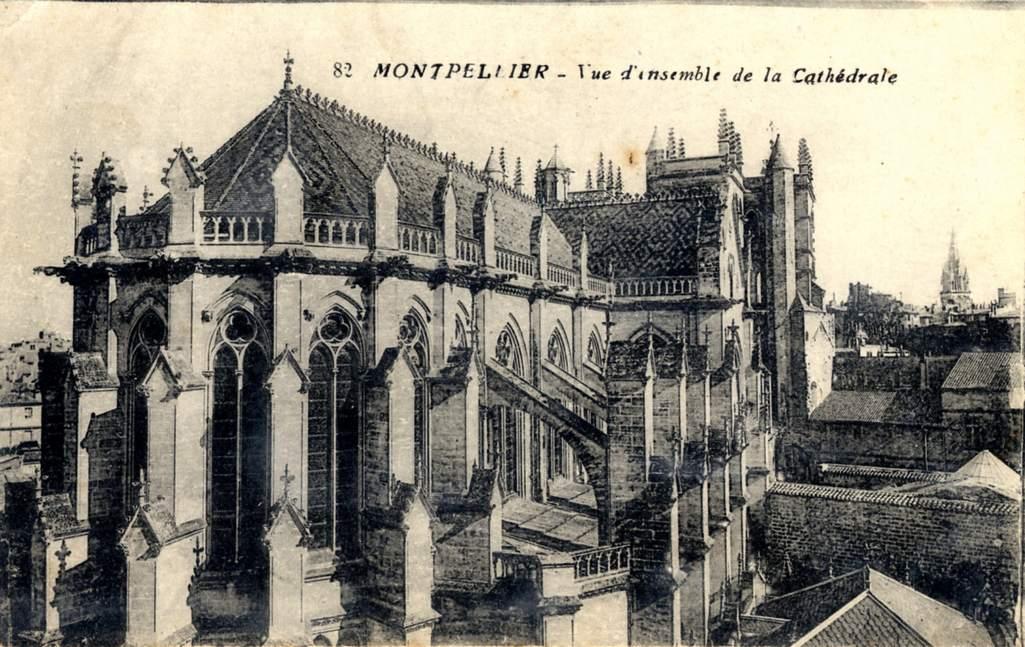 Ville de montpellier site de la mairie de montpellier dans l 39 herault - Cathedrale saint pierre de montpellier ...