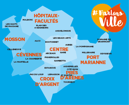 Carte sous quartiers