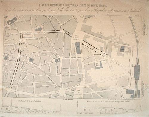 cartographies et plans anciens de montpellier ville de montpellier. Black Bedroom Furniture Sets. Home Design Ideas
