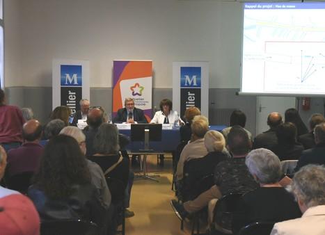 Retour sur la réunion publique d'information des travaux d'aménagement de la rue du Faubourg du Courreau