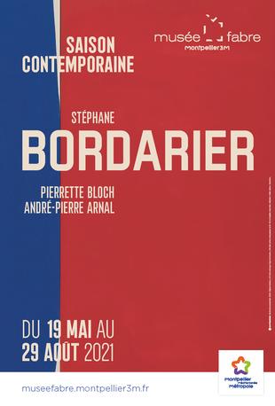 Affiche de l'exposition Saison contemporaine - Stéphane Bordarier