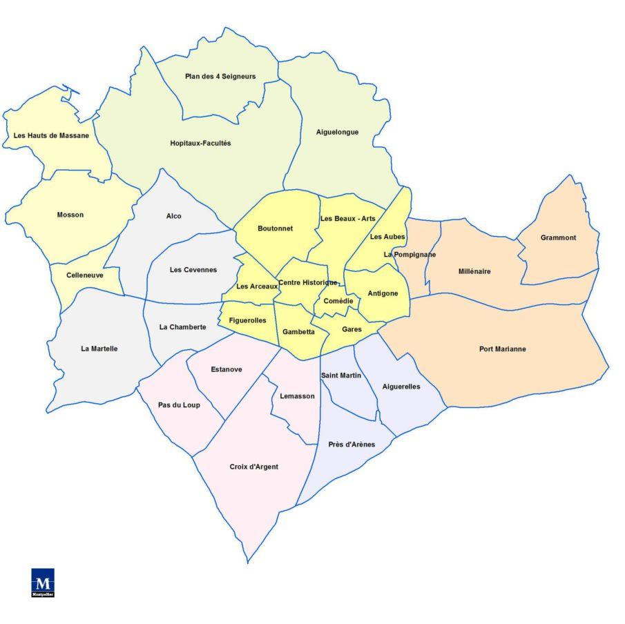 Info quartier de montpellier - Quartiers de montpellier ...