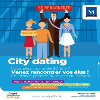 Le CMJ propose un 2ème city dating le 1er mars 2017