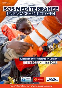 « SOS MÉDITERRANEE : UN ENGAGEMENT CITOYEN » : Exposition photo à découvrir à la Maison des Relations Internationales du 15 au 30 juin 2021