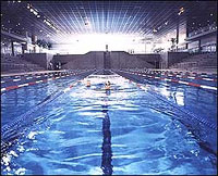 Piscine olympique d 39 antigone ville de montpellier - Piscine place de l europe montpellier ...