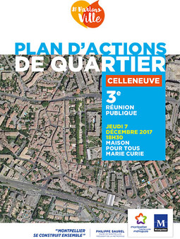 Plan d'actions quartier Celleneuve