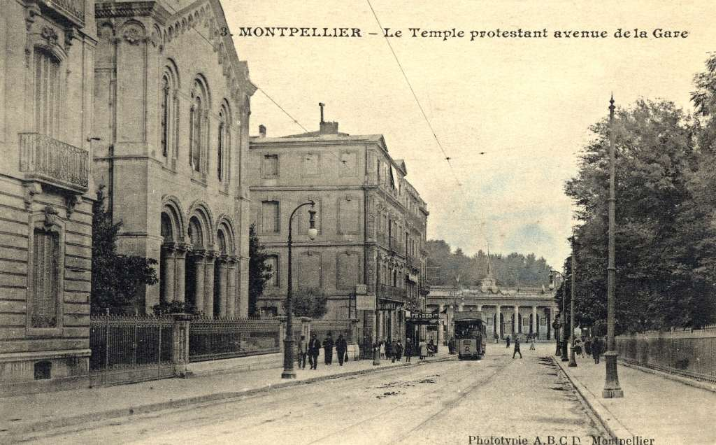 Temple protestant, vers 1900. 6Fi 224
