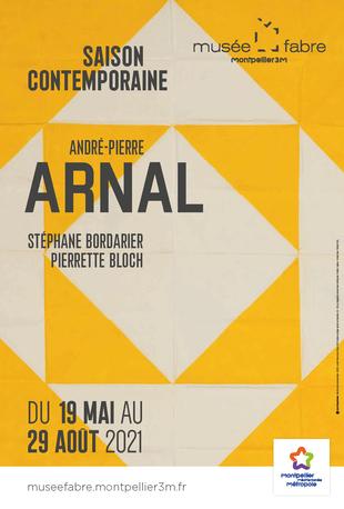 Affiche de l'exposition Saison contemporaine - André-Pierre Arnal
