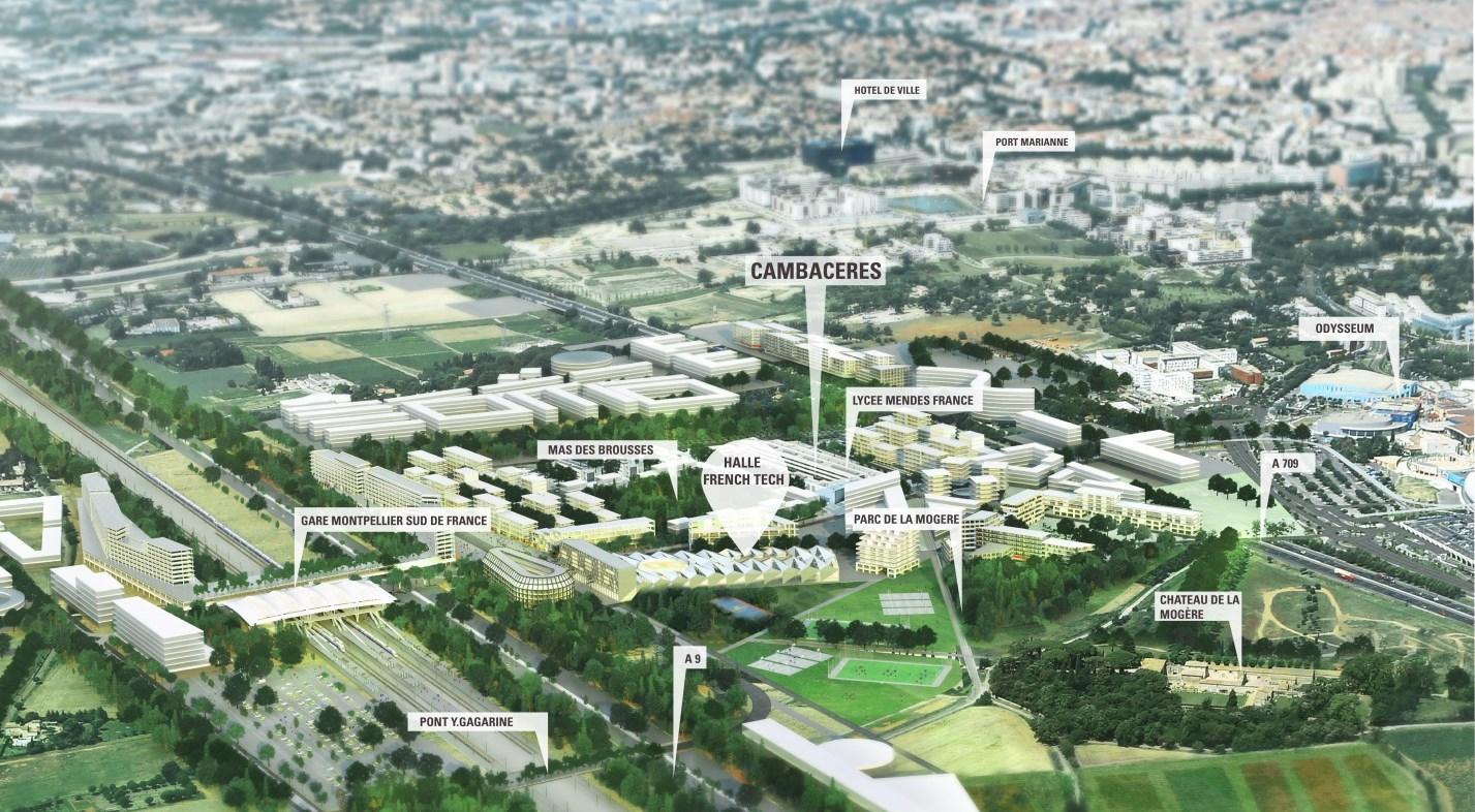 Montpellier l innovation numérique au centre du nouveau quartier