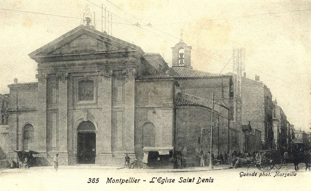Eglise Saint-Denis, vers 1900. 6Fi 74
