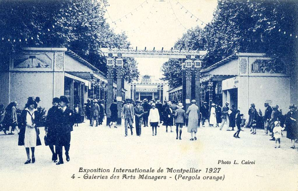 1927 Exposition Internationale à Montpellier. AMM, 6Fi898