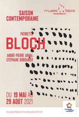 Affiche de l'exposition Saison contemporaine - Pierre Bloch