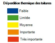 Légende thermographie