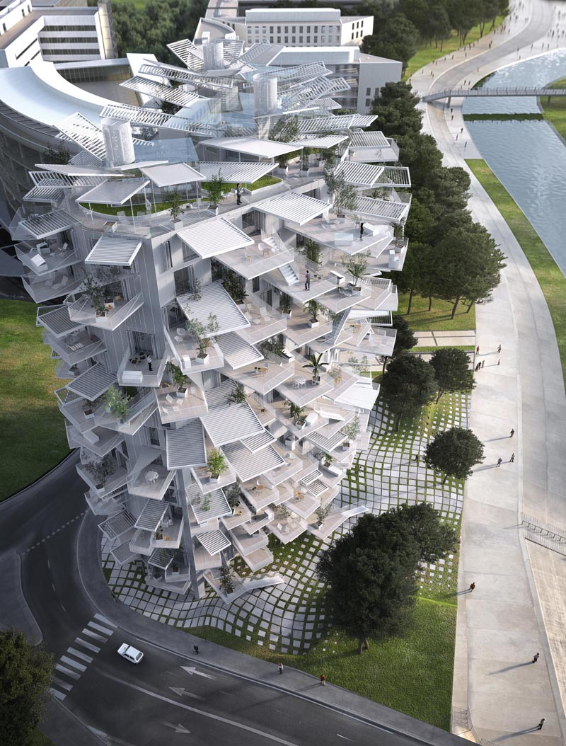 Richter 5 - Sou fujimoto architects / NL*A Paris / Oxo architects / RSI
