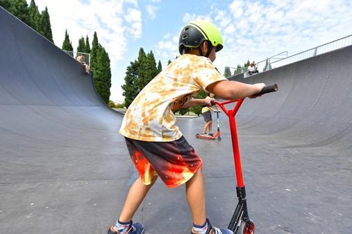Skatepark de Grammont : un site transitoire pendant les travaux
