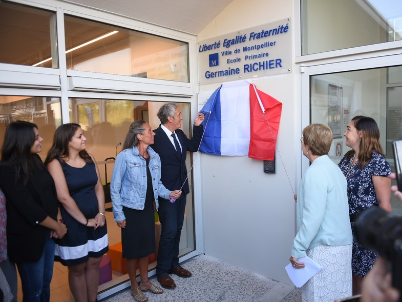 Inauguration école Germaine Richier