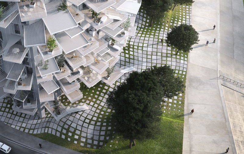 Richter 3 - Sou fujimoto architects / NL*A Paris / Oxo architects / RSI