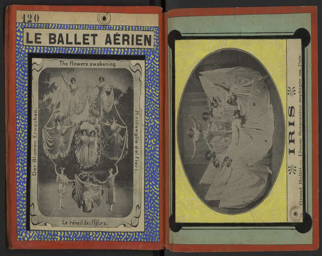Le Ballet aérien - Iris à Montpellier. AMM, collection Gilles, 9S14 068