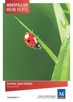 Montpellier Main Verte : sorties naturalistes