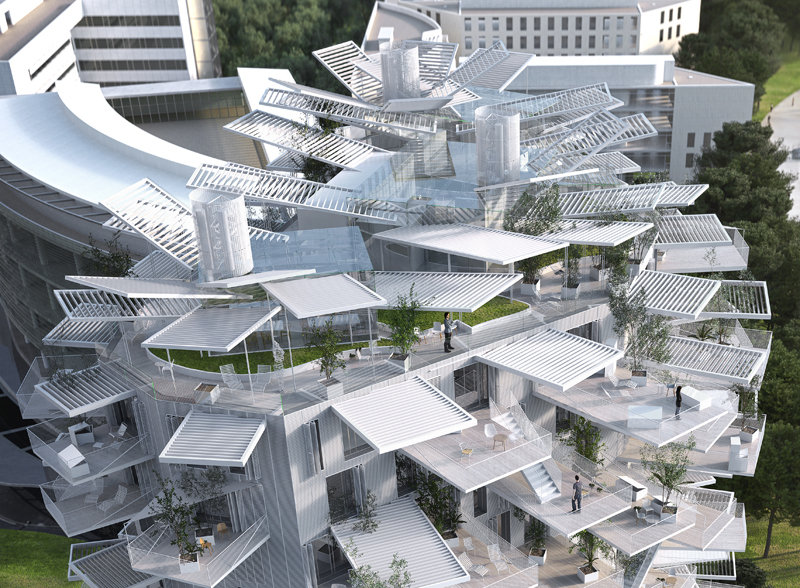 Richter 2 - Sou fujimoto architects / NL*A Paris / Oxo architects / RSI