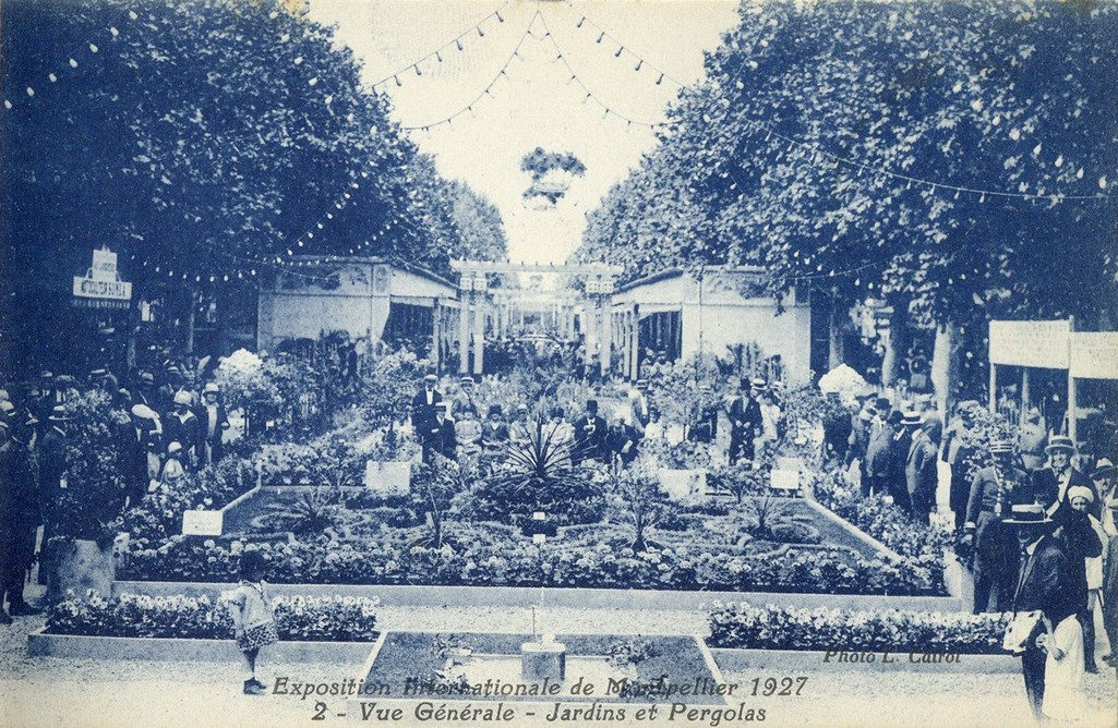 Exposition internationale de Montpellier, 1927. AMM, carte postale, 6Fi1782-02