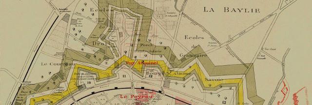 Cartographie Ancienne De Montpellier