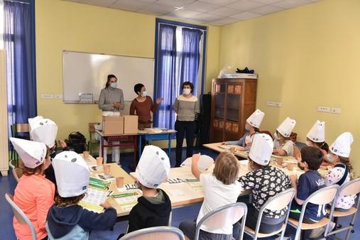 Jusqu'au 15 octobre, la semaine du goût mise à l'honneur dans les écoles de Montpellier