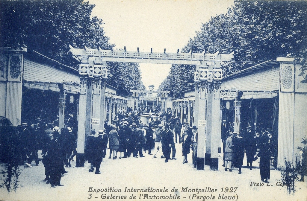 Exposition internationale de Montpellier, 1927. AMM, carte postale, 6Fi1782-03