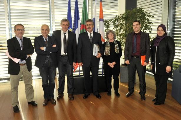 Philippe SAUREL A Recu Le Consul General DAlgerie Montpellier